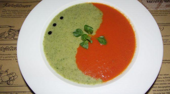Tomaten-Brokkoli-Suppe