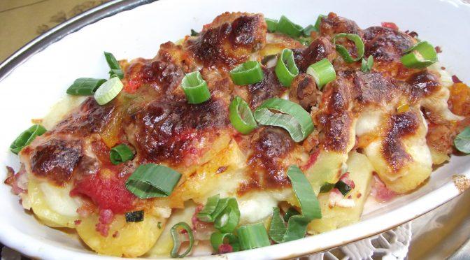 Kartoffel-Bolognese-Auflauf