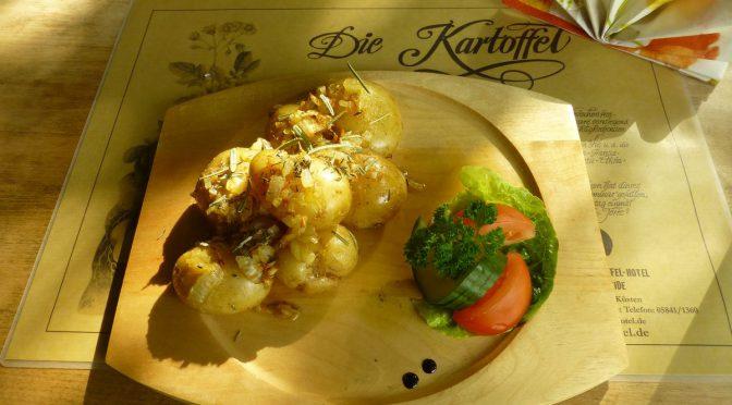 Kartoffeln mit Knoblauch