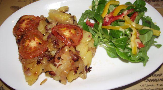 Kartoffel-Tomaten-Auflauf