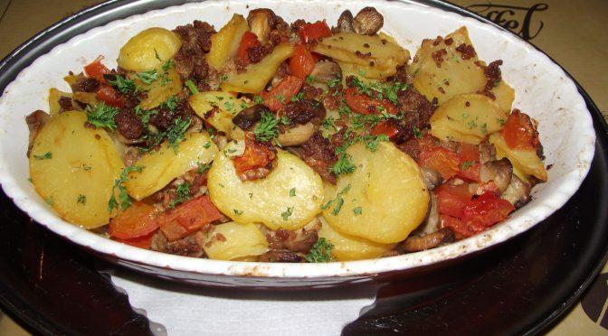 Kartoffel-Fleisch-Auflauf