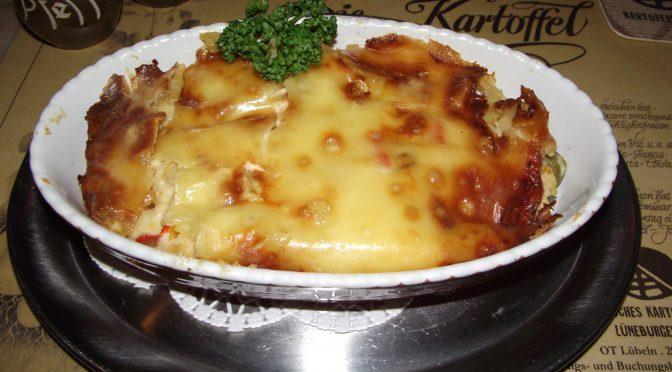 Kartoffel-Quarkauflauf