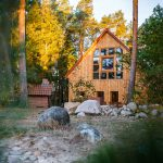 Unser neues Waldhaus liegt natürlich bei uns im Wald :-)
