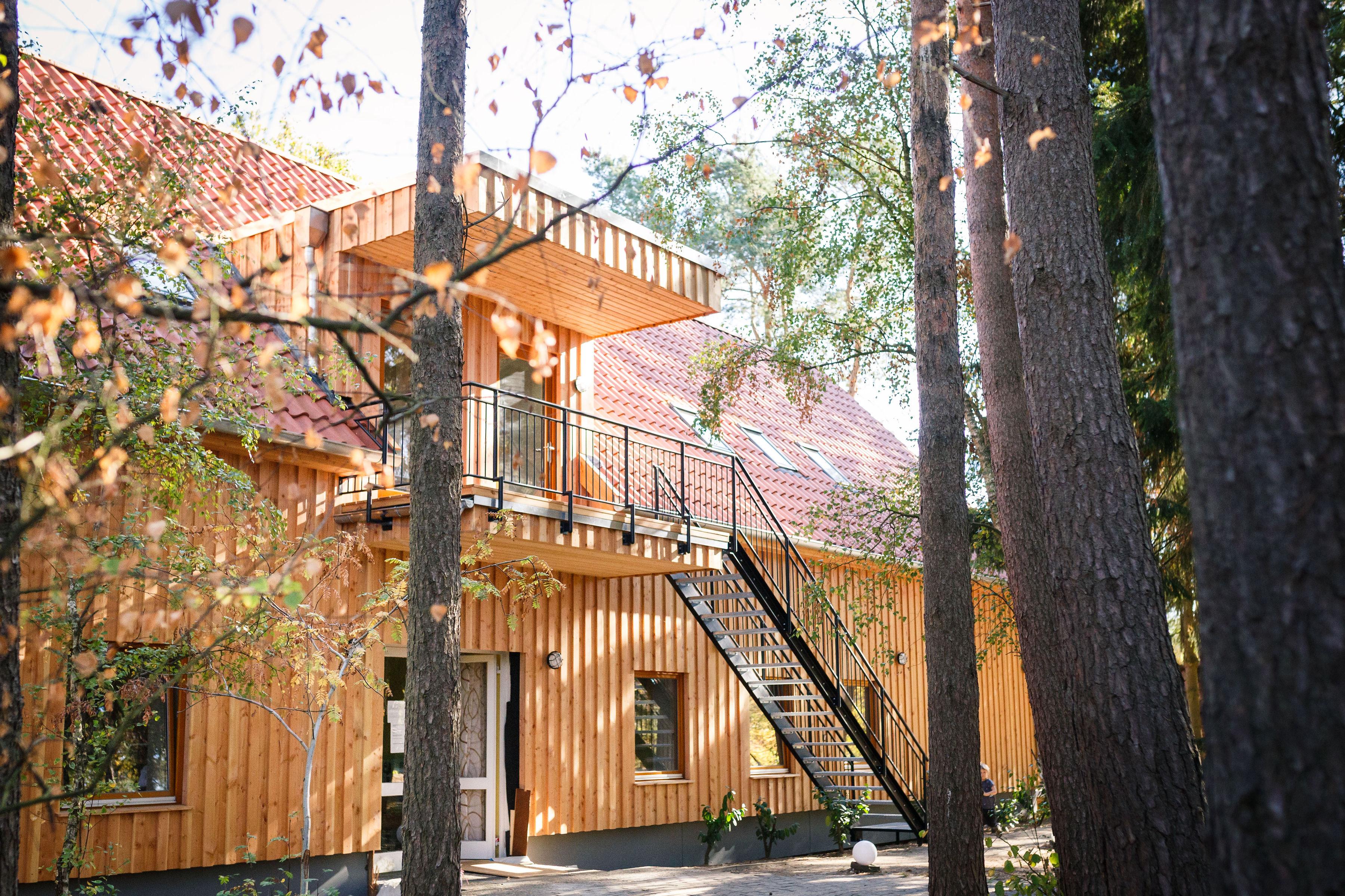 Aus unserem Gelben Haus ist das neue Waldhaus geworden