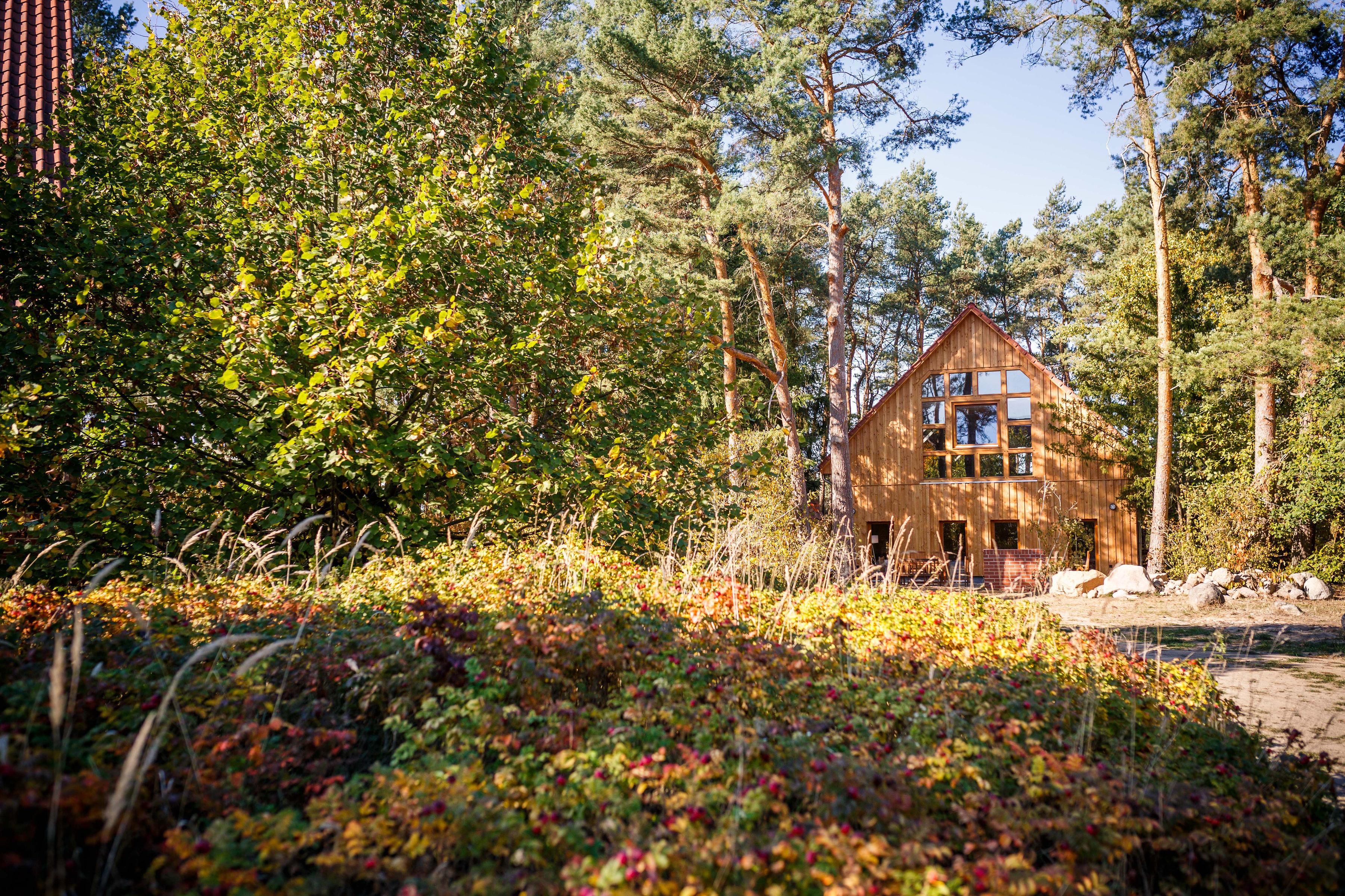Unser neues Yoga Waldhaus mit zwei zusätzlichen Yoga Räumen