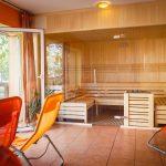 Unsere neue Panorama Sauna