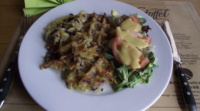 Kartoffelpuffer-Waffeln