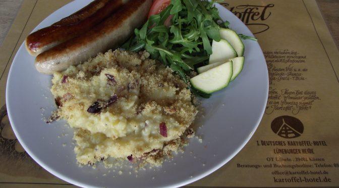 Gratiniertes Käse-Kartoffel-Püree