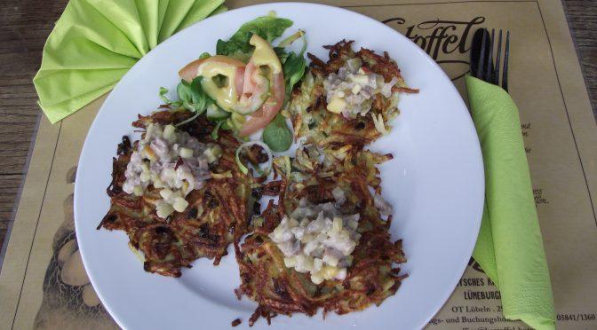 Kartoffel-Rösti mit Matjes-Tartar