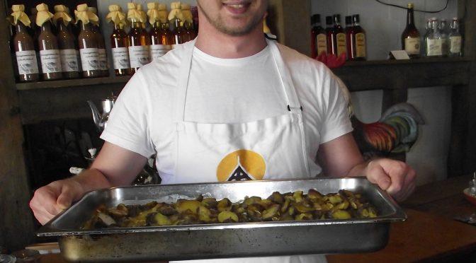 Mandel-Kartoffeln mit Sahne